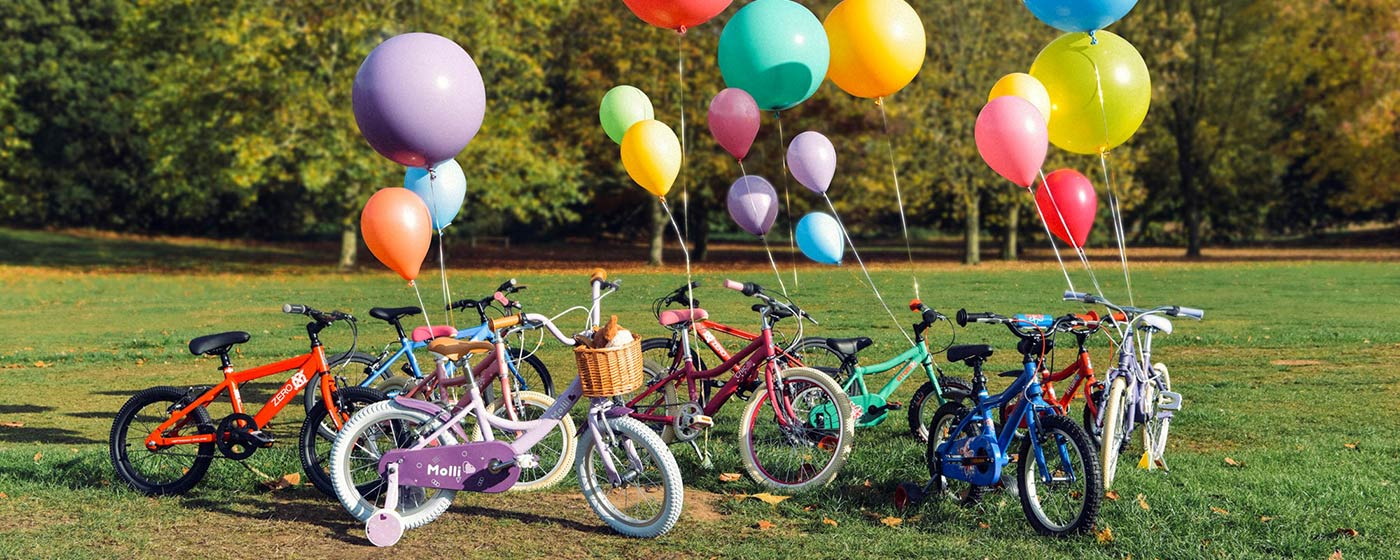 Huge Selection Of Kids Bikes!